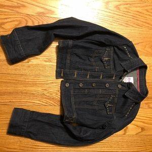 Cropped Jean jacket Candie's girls M